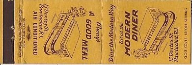 Modern Diner - Matchbook (1)