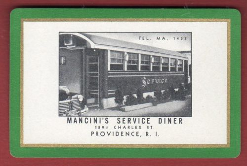 Mancini's Service Diner - Swap Card